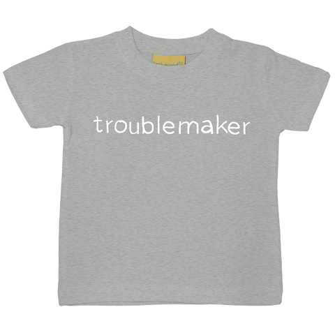 Troublemaker Reverse Print T-Shirt - 7 colours