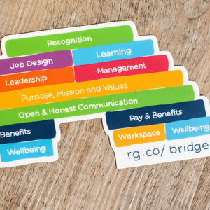 Engagement Bridge Laptop Sticker