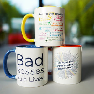 Rebel Playbook Mug Trio