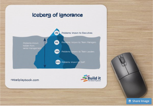 Iceberg of Ignorance Mousemat