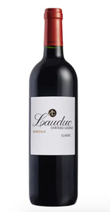 Wine CHATEAU LAUDUC, BORDEAUX ROUGE 37.5cl