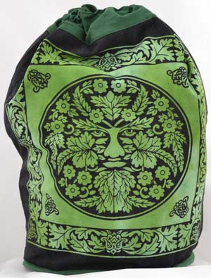 Green Man Backpack