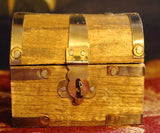 "Wood Treasure Chest - 2"" x 3"""