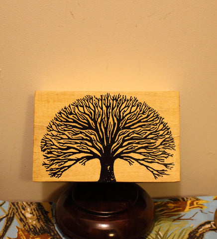 Wood Box, Tree of Life - Natural Color
