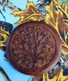 Wood Incense Holder, Tree of Life 1