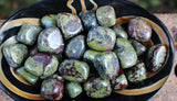 Bulk Tumbled Dragon Blood Jasper 1/4 or 1/2 lb
