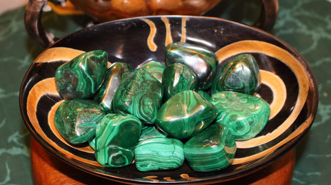 Tumbled Malachite - Large