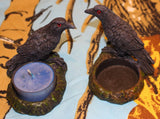 Raven Tealight Holders - Set