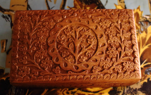 Tree of Life Wood Box Set