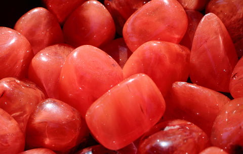 Tumbled Cherry Quartz