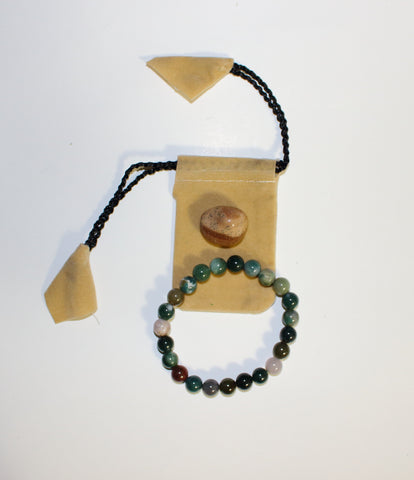 Fancy Jasper Bracelet Set