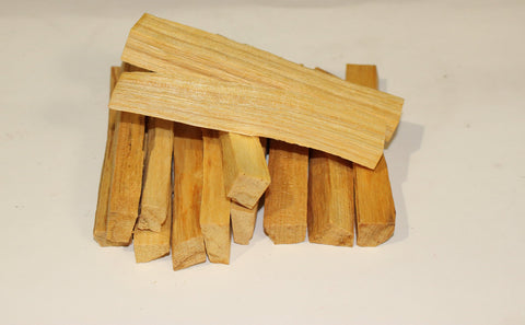 1/4 lb Palo Santo Sticks - Bulk, 15-21 Palo Santo Smudge Sticks