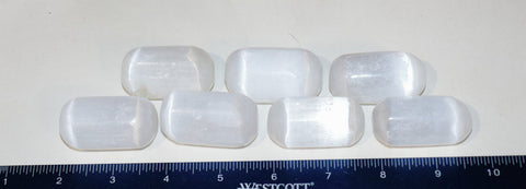 Tumbled Selenite, Large Tumbled Selenite