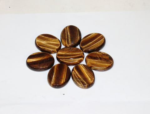 Tiger Eye Worry Stone, Tigers Eye, Tiger's Eye Worry Stone
