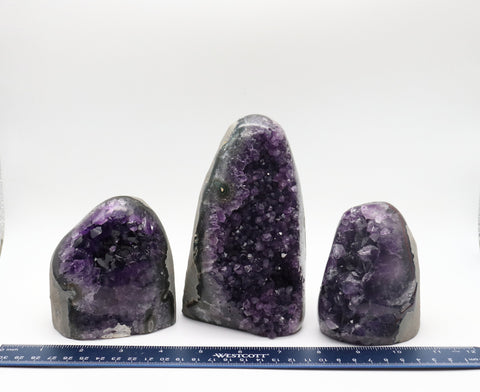 Amethyst Geode Polished Display 1-3 lbs