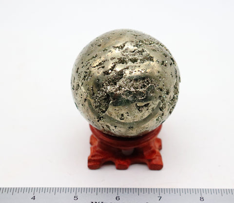 Pyrite Sphere  68 mm/2.7""