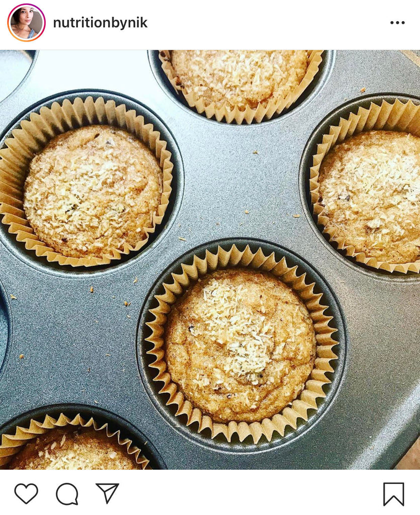 Coco-Nutty Mini Muffins