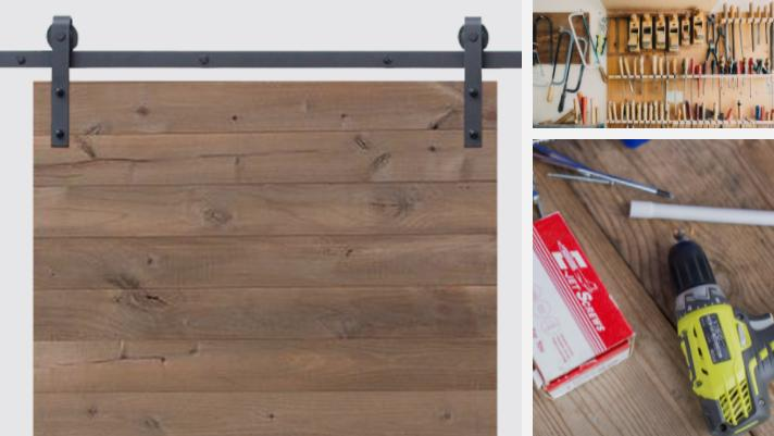 DIY Barn Door Hardware Kit Tutorial | MJC & Company