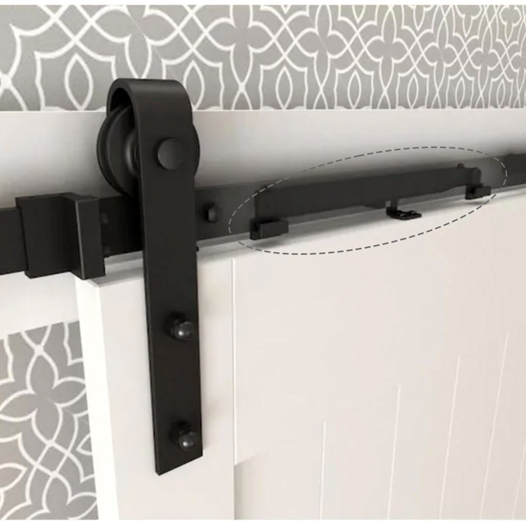 soft close attachment for sliding barn doors | MJC & COMPANY