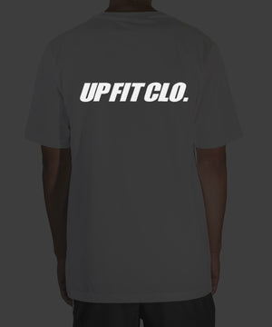 UPFITCLO. Oversized Shirt Reflective White