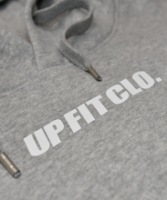 Load image into Gallery viewer, UPFITCLO HOODIE GREY LOGO