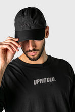 Load image into Gallery viewer, UP FIT CLO. PERFORMANCE CAP BLACK