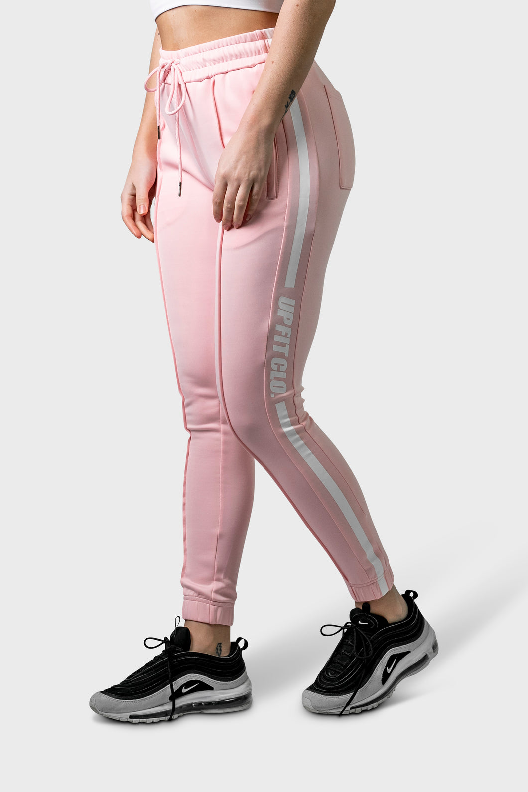 UPFITCLO. LADIES TRACKPANTS PINK