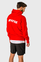 Load image into Gallery viewer, UPFITCLO. MEN RAGLAN HOODIE RED