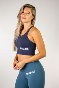 UPFITCLO LADIES SPORTS BRA BLUE