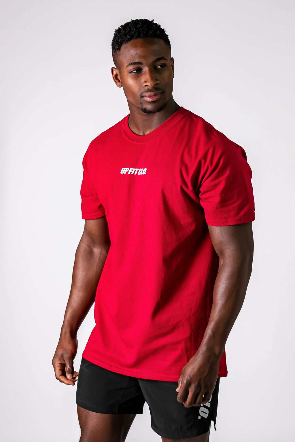 UPFITCLO BASIC COTTON SHIRT RED
