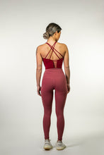 Load image into Gallery viewer, UP FIT CLO. LADIES LEGGING RED 2.0