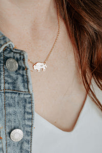 Bison Heart Necklace