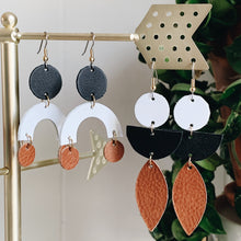 Peace Leather Earrings