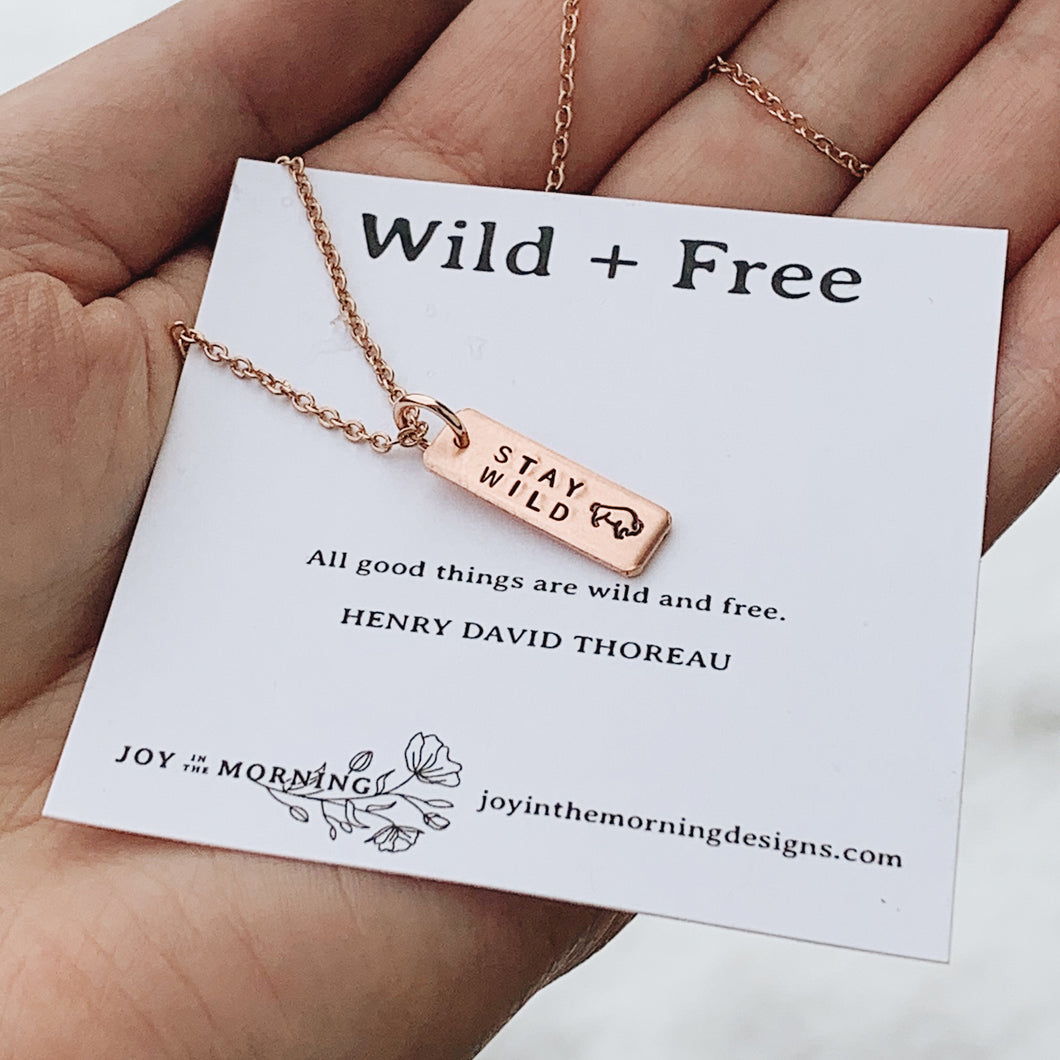 Stay Wild Necklace