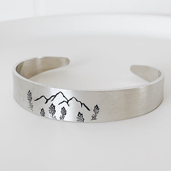 Painted Mountains Cuff