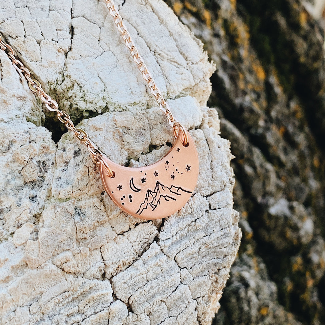 Starry Mountain Necklace