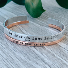 "Love Without Limits Cuff {1/8""}"