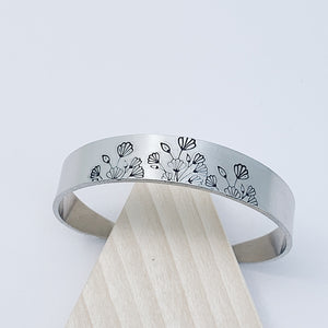 Wildflower Tapered Cuff
