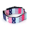 Nautical Martingale Dog Collar