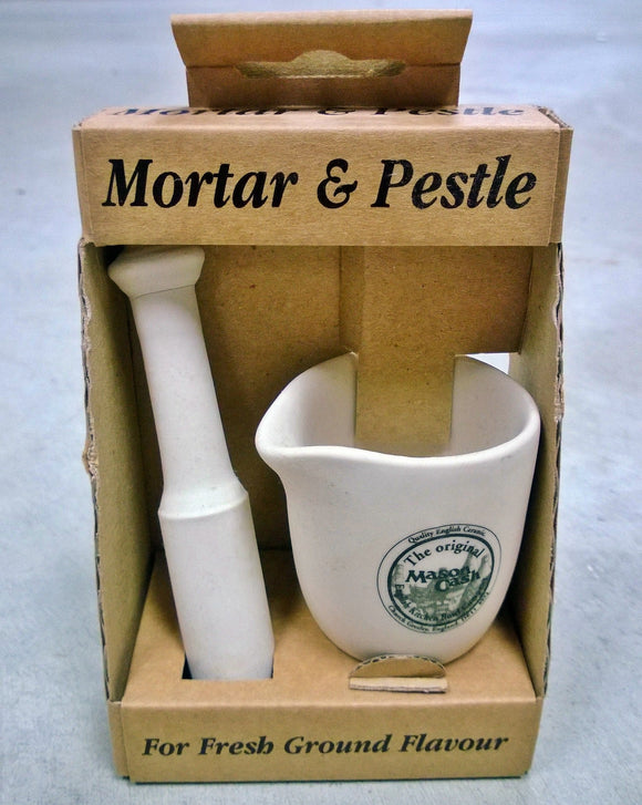 Ceramic Mortar & Pestle
