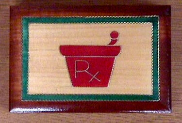 Pharmacy Trinket Box