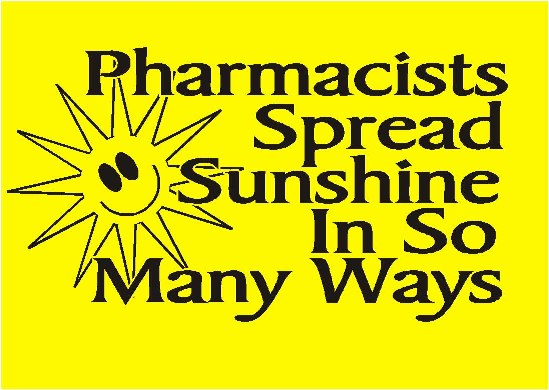 Pharmacists Spread Sunshine