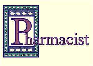 Pharmacist Bookplate