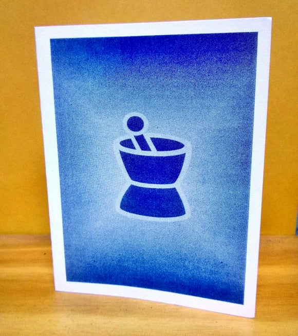 Mortar & Pestle Notecards