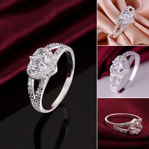 Stylish Crystal Ring