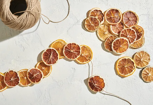 Drying Orange Slices for Garland, Cocktails, Gift Giving and More