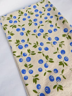 Blueberry Kitchen Tea Towel