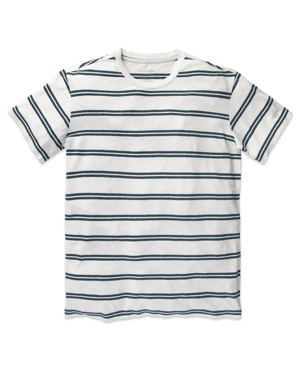 Bayside Striped T-Shirt in  Salt Sunday Striped