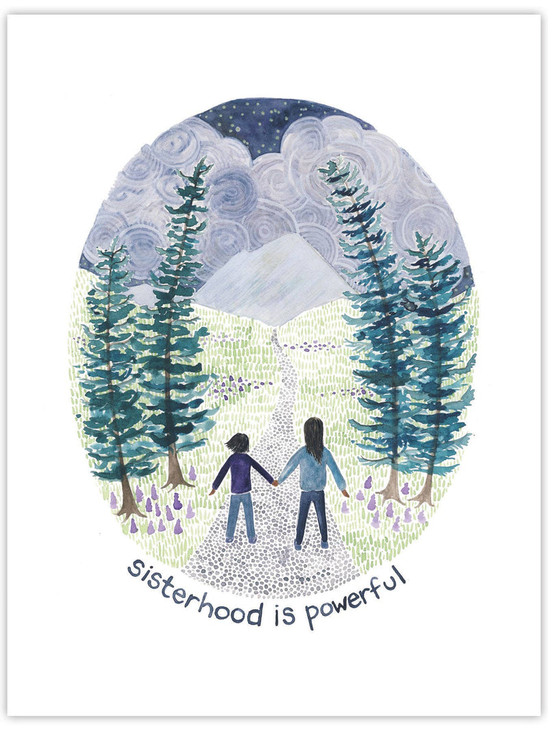 Sisterhood is Powerful Card