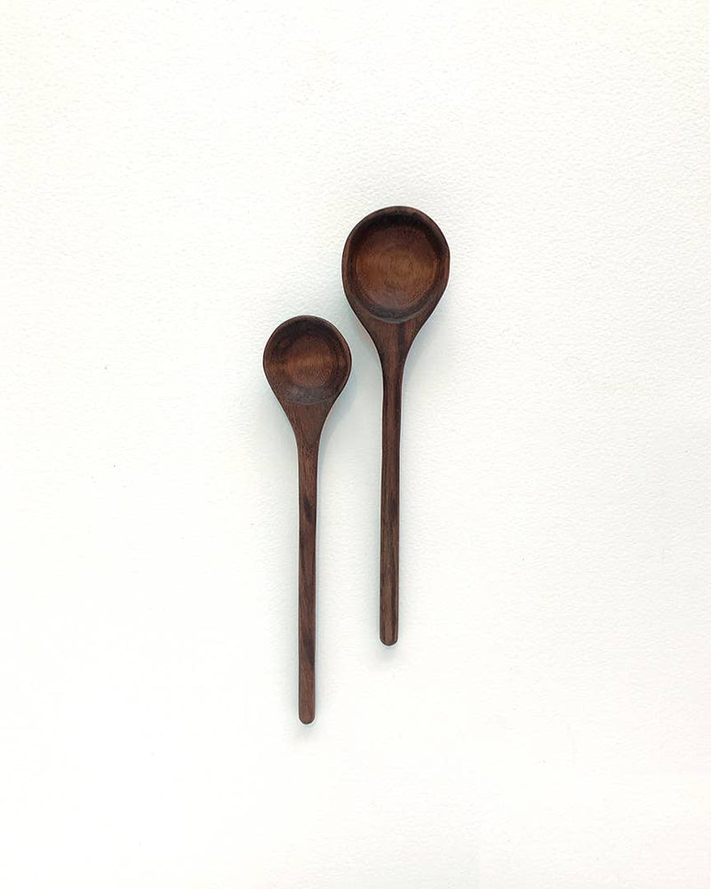 Walnut Tbsp and Tsp Set